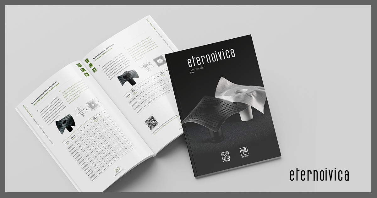 New catalogue for Eterno and Liquid